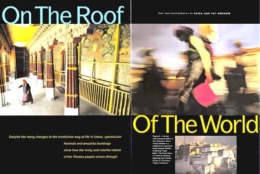 Lhasa Magazine Spread