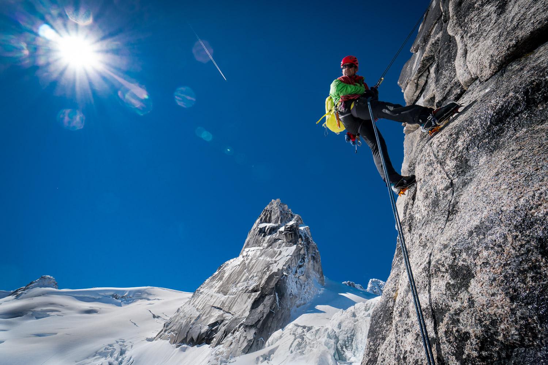 mountain climbing, mountaineering