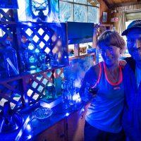 Pip Walter and Simon Middlemass, custodians at NZAC's Unwin Lodge, Aoraki / Mount Cook National Park, UNESCO World Heritage Site. New Zealand