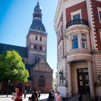 Old Riga street scene, Riga