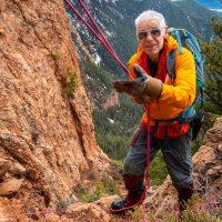 Scramble up a mountain above Radium, BC with David Jones