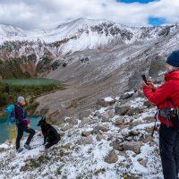 McLean Lake, Buster Lake loop hike with Karen Barkely, Dorje, and Sarah Locke