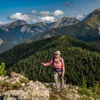 Pedley Pass loop hike with Baiba, Rockies